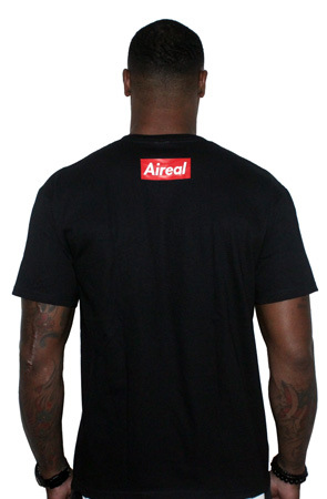 Super Sperm Tee Shirt by AiReal Apparel in Black - Click Image to Close