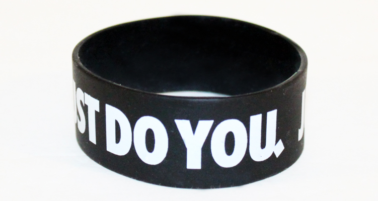 Just Do You 1-Inch Wristband by AiReal Apparel - Click Image to Close